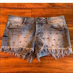 BOGO💙stretchy jean shorts